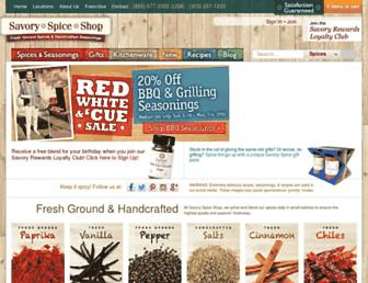 Thumbshot of Savoryspiceshop.com