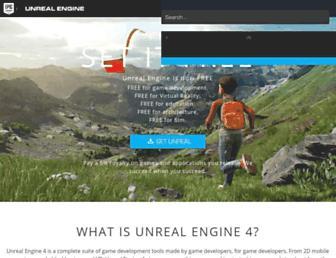 unrealengine.com screenshot