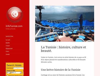 infotunisie.com screenshot