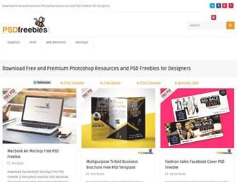 psdfreebies.com screenshot