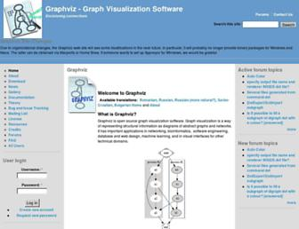 graphviz.org screenshot