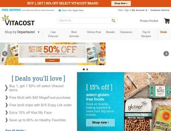 Thumbshot of Vitacost.com
