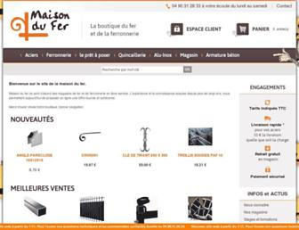 maisondufer.com screenshot