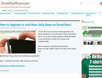 droidrazrroot.com screenshot