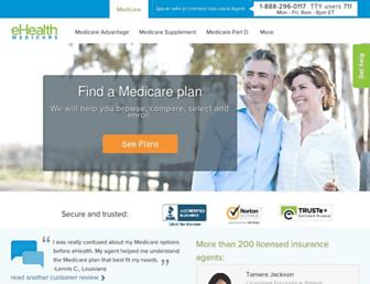 Thumbshot of Ehealthmedicare.com