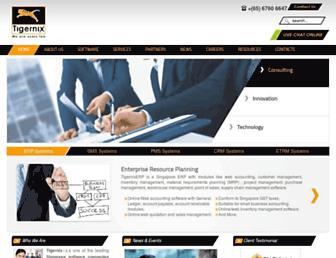 tigernix.com screenshot