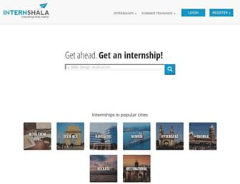 Thumbshot of Internshala.com