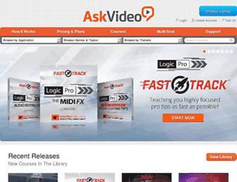 askvideo.com screenshot