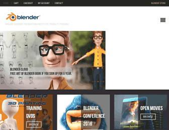 Thumbshot of Blender3d.org