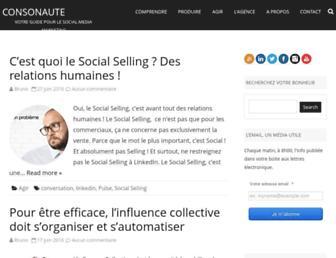 Thumbshot of Consonaute.fr