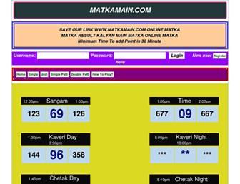matkamain.com screenshot