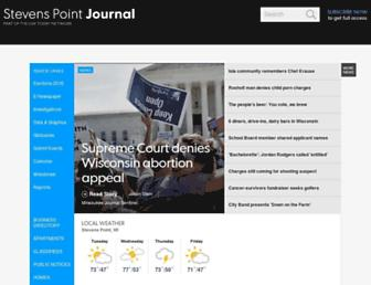 Thumbshot of Stevenspointjournal.com