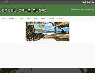 steeldrummusic.net screenshot