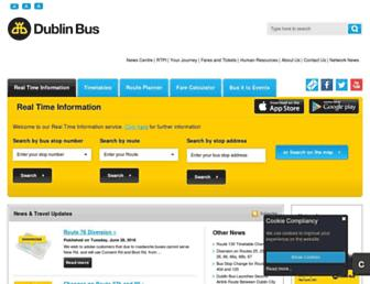Thumbshot of Dublinbus.ie