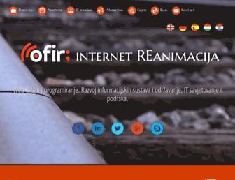 ofir.hr screenshot
