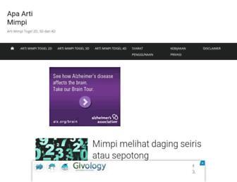 apaartimimpi.web.id screenshot