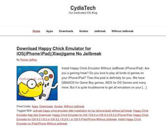 cydiatech.com screenshot