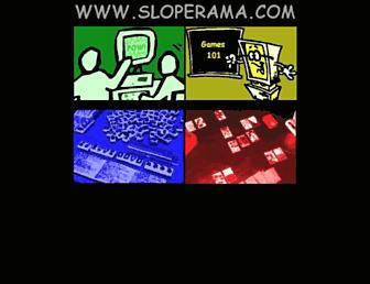 sloperama.com screenshot