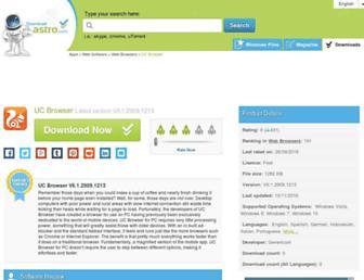 uc-browser.en.downloadastro.com screenshot