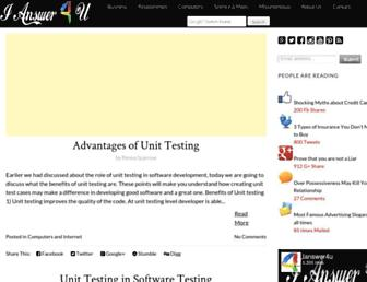 ianswer4u.com screenshot
