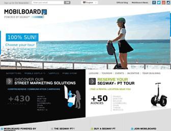 mobilboard.com screenshot