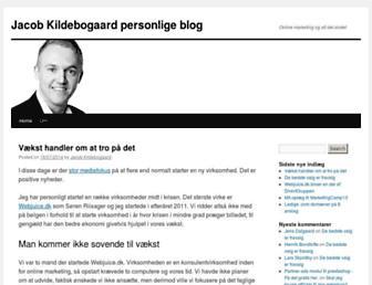 Thumbshot of Jacob-kildebogaard.dk