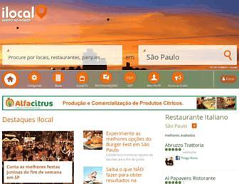 ilocal.com.br screenshot