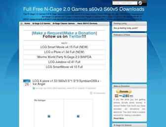 full-ngage-games.blogspot.com screenshot