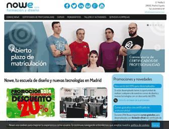 nowecreative.com screenshot