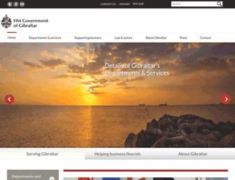 Thumbshot of Gibraltar.gov.gi