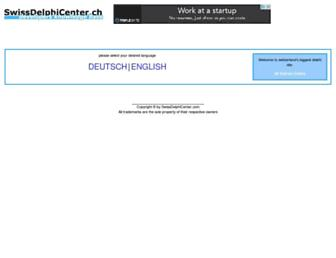 swissdelphicenter.ch screenshot