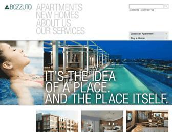 Thumbshot of Bozzuto.com