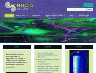 Main page screenshot of serendip.brynmawr.edu
