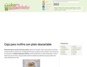 ideasdemanualidades.com screenshot