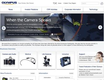 Thumbshot of Olympus.com