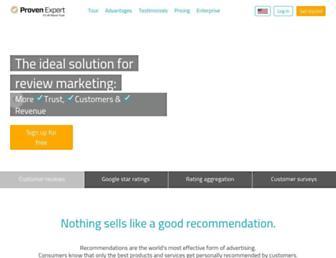 provenexpert.com screenshot