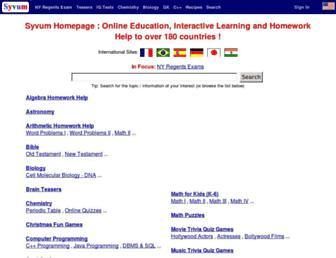 syvum.com screenshot