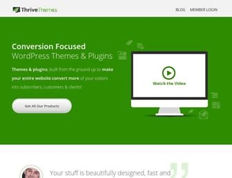 Thumbshot of Thrivethemes.com
