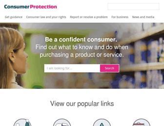 consumerprotection.govt.nz screenshot