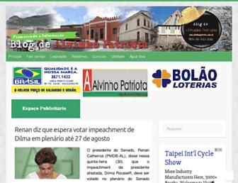 alvinhopatriota.com.br screenshot