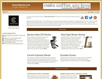 Thumbshot of Home-barista.com