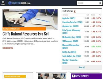 Thumbshot of Investorguide.com