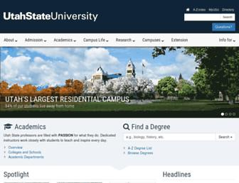 Thumbshot of Usu.edu