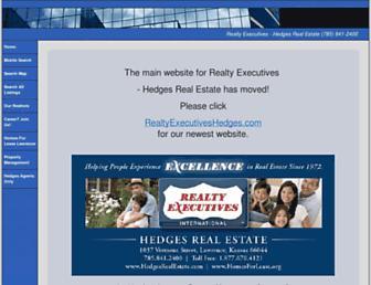 hedgesrealestate.com screenshot