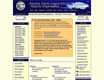 Main page screenshot of akrepublicans.org