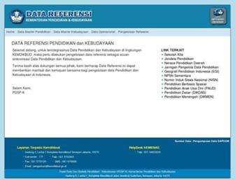 referensi.data.kemdikbud.go.id screenshot