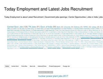 todayemployment.in screenshot
