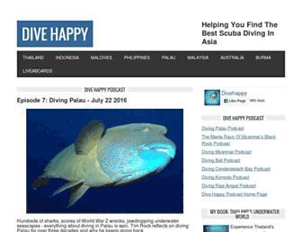 divehappy.com screenshot