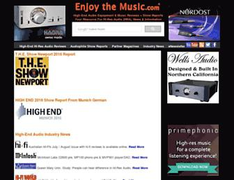 enjoythemusic.com screenshot