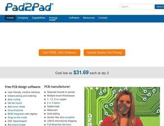 pad2pad.com screenshot